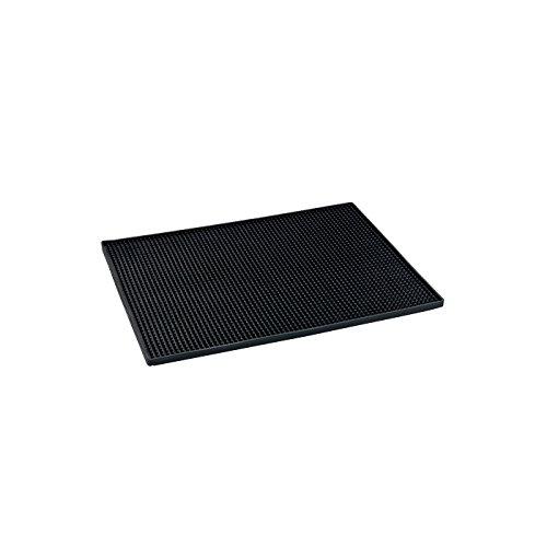 WENKO Abtropfmatte 54701500 40x30cm schwarz (54701500)