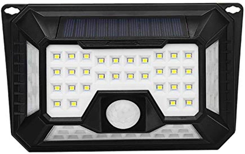 66 LED Solar Licht, PIR Bewegungsmelder Wandleuchte, IP65 wasserdicht 3 Modi Outdoor Garten Licht Notfall Sicherheit Solar Licht,2pcs