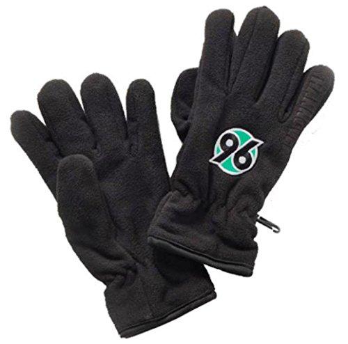 Fleecehandschuhe Logo Schwarz Gr. S/M Hannover 96, H96, Gloves, guantes, gants