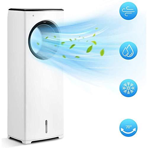 MSQL 110W Mobile Klimaanlage, 3-in-1-Luftkühler mit Befeuchtungs- und Luftreinigungsfunktion, 8H-Timer, 3 Geschwindigkeiten mit Fernbedienung, 220V