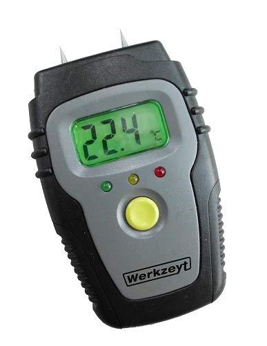 Werkzeyt - B29820 Holz und Baumaterialfeuchtigkeitsmesser, digital
