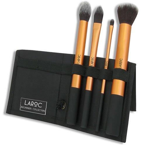 LaRoc Make-upkwasten, 4 stuks, cosmetica-set, oogschaduw, foundation, poeder, blush