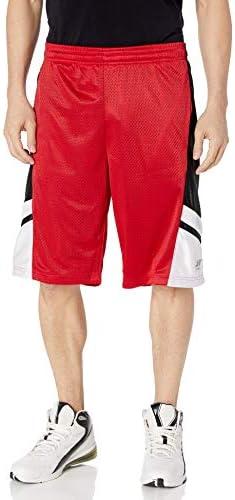 Southpole Shorts Basketball Mesh Shorts White