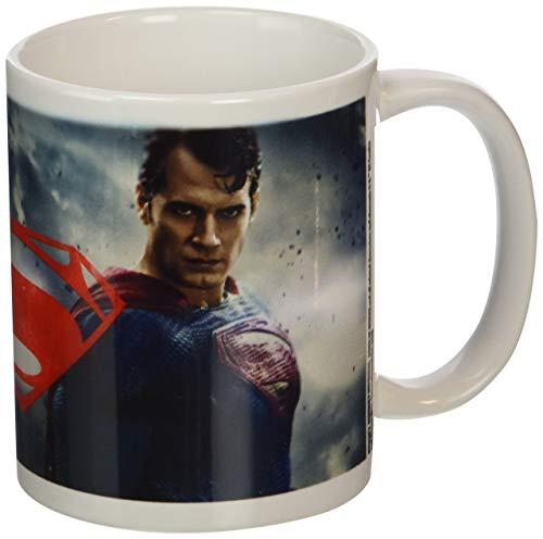 DC Comics Batman V Superman - Taza de cerámica, multicolor