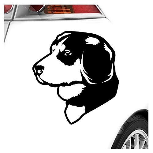 Kiwistar Appenzeller Sennenhunde Aufkleber Sticker 25 Farben Neon Matt Chrome