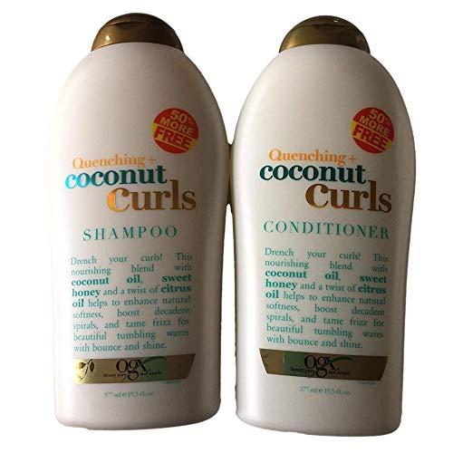 OGX Quenching Plus Coconut Curls Bundle Shampoo &...