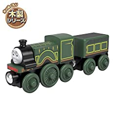 """Thomas and Friends Wood toy train comes with """"tender"""" cargo car and is compatible with redesigned Thomas and Friends Wood track and classic Thomas and Friends Wooden Railway track (sold separately and subject to availability) Made with sustainably-..."""