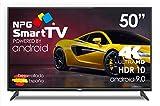 "NPG S530L50UO LED 50"" 4K UHD Smart TV Android 9.0 HDR10"