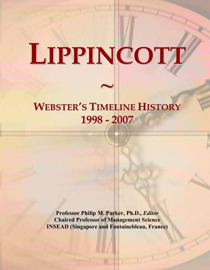お肉ほとんどない母音Lippincott: Webster's Timeline History, 1998 - 2007