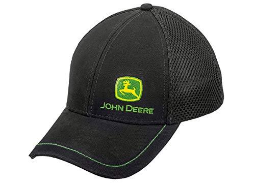 John Deere Cap mit Stoff-Mesh Schwarz