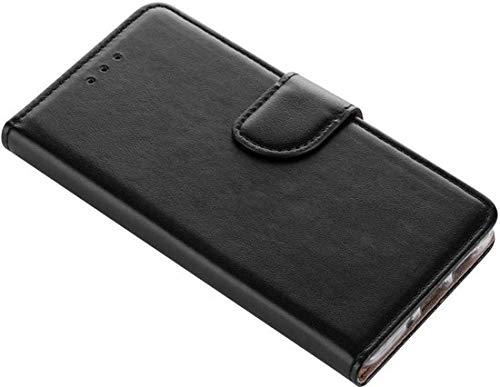 Samsung Galaxy A5 2017 Boek Hoesje - siliconen binnenkant - portemonnee hoesje ? geschikt voor pasjes - Zwart