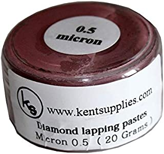 Kent Grit 0.5 Micron Diamond Polishing Paste Lapping Compound in 20gr Container