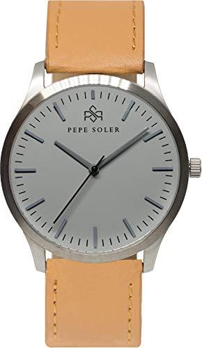 Orologio Analogico da uomo Pepe Soler–modello silversand