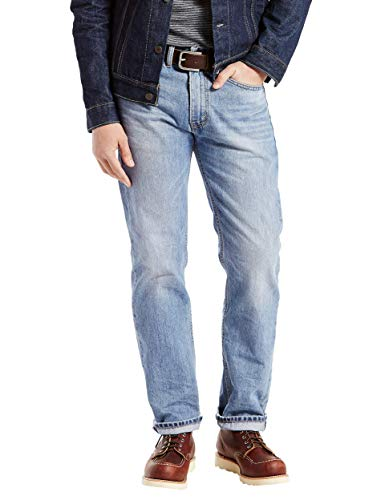 Levi's Herren Jeans 505 Regular Fit - grau - 34W / 32L