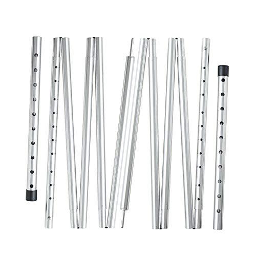 REDCAMP Heavy Duty Aluminum Tarp Poles