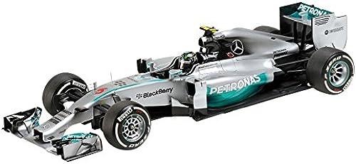 Minichamps Mercedes F1 W05 Hybrid, No.6, Mercedes AMG Formel 1 Team, Petronas, Formel 1, 2014, Modellauto, Fertigmodell, 1 18