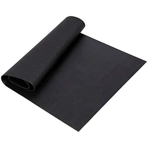 Alfombrilla para equipo de ejercicios, 60 x 180 cm, multifuncional, resistente al desgaste, amortiguación, vibración, suelo protector para equipo de gimnasio y cojín para entrenamientos