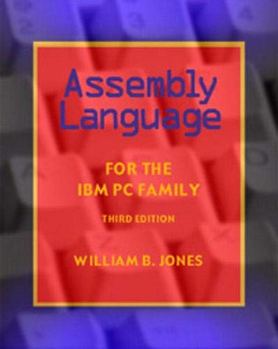 Assembly Language for the IBM PC Family