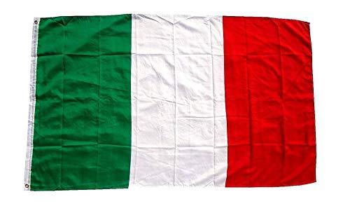 Fahne, Seidenfahne, Flag, Flagge, 90 x 150 cm Italien, Italia, Italy