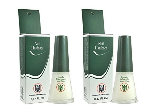 Quimica Alemana Nail Hardener 0.47 Fl Oz Pack of 2 by Quimica