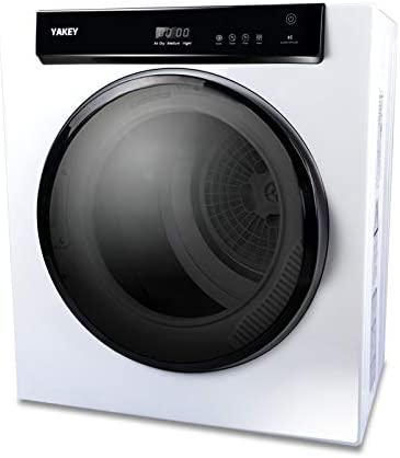 1400W Electric Portable Clothes Dryer 9 lbs Capacity Front Load Compact Tumble Laundry Dryer product image