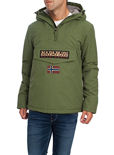 Napapijri K-Way Regenjacke aus Nylon, Farbe Grün, für Herren, Herren, grün, XL