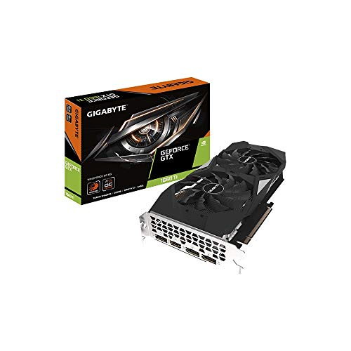 Gigabyte GeForce GTX 1660 Ti Windforce WF2OC-6GD