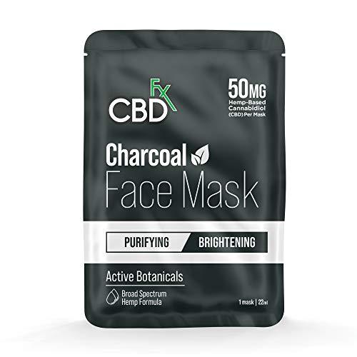 CBDfx CBD Gesichtsmaske, anthrazit, 50...
