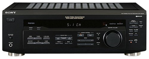 Sony STR-DE245 HiFi-Receiver schwarz