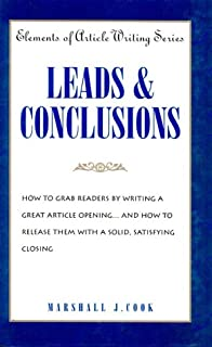 Leads & Conclusions (Elements of Article Writing)
