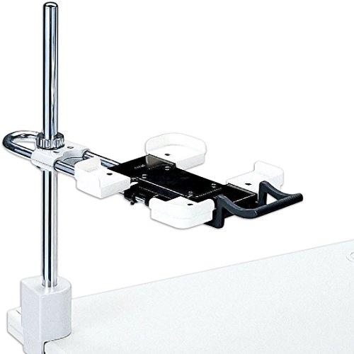 プラス 電話機台 新型クランプタイプ 皿面高さ:110~400mm 13-023 TE-232JL