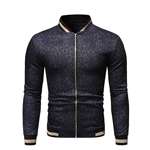 Vertvie heren bomber jas bedrukken binnen outdoor bovenstukken tops lange mouwen outwear casual vrije tijd korte coat vrijetijdsjas ritssluiting overgangsjas