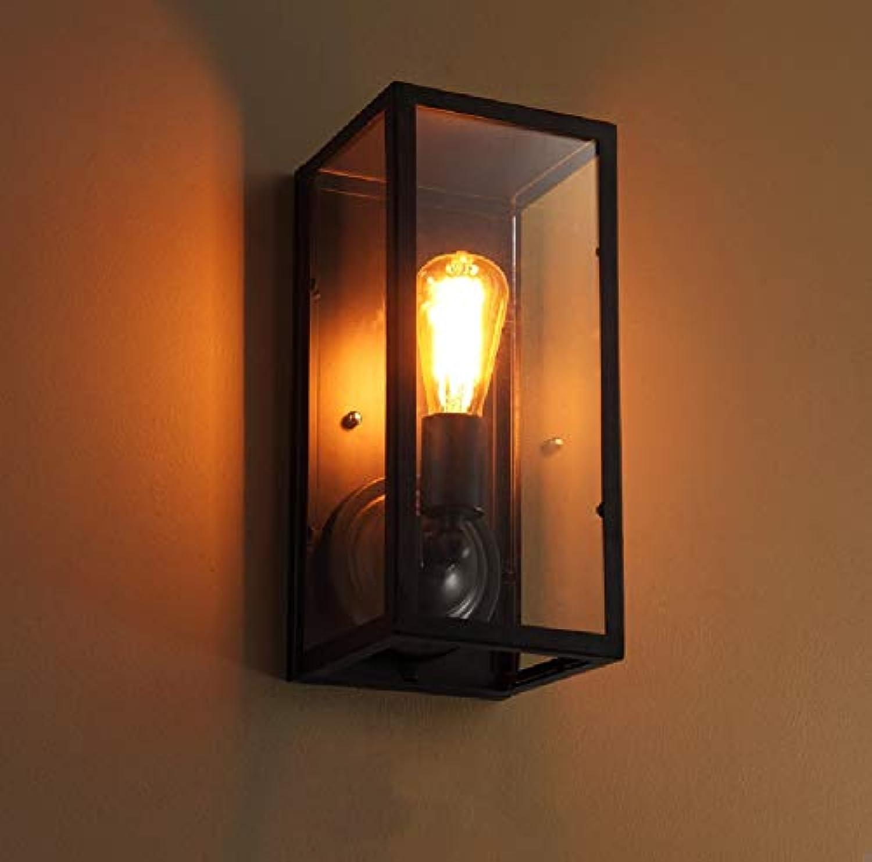 Tritow Amerikanischen lndlichen Wandleuchte Gang Schlafzimmer kreative Nachttisch Glas Wandleuchte Retro Industrial Wind Loft Bar Lampe Wandlaternen