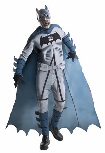 Blackest Night Adult Deluxe Zombie Batman Costume