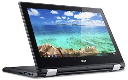 Newest Acer Convertible 2-in-1 Chromebook-11.6' HD IPS Touchscreen, Intel Celeron Quad-Core Processor Up to 2.08Ghz, 4GB RAM, 16GB SSD, HDMI, WiFi, Chrome OS-(Renewed)