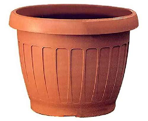 Bama - Maceta para Plantas, ABS, Color Terracota, diámetro 60 cm, Terracota