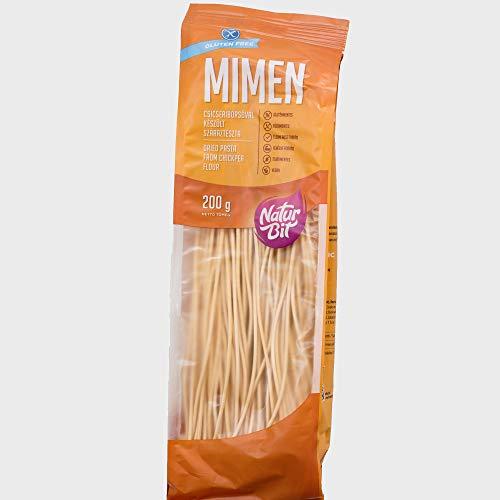 Spaghetti aus Kichererbsen 200 g I VEGAN aus Kirchererbsenmehl I glutenfrei