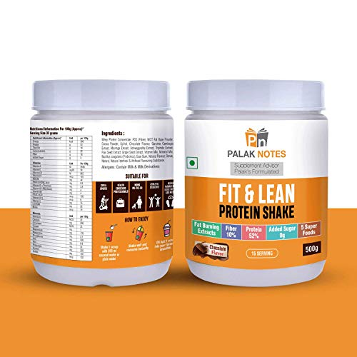 Palak Notes: LOW CARB Protein Shake – Sweetened with Xylitol & Stevia – Ashwagandha – Garcinia Cambogia – MCT Powder – PROBIOTICS- Keto – Paleo (USA SOURCED)
