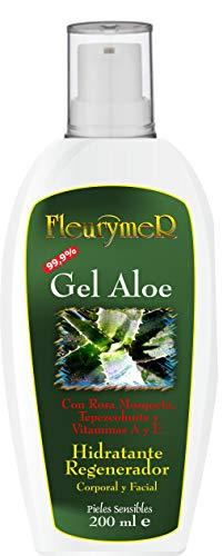 FLEURYMER Gel Aloe + Rosa M. + Tepezcohuite, 200 ml