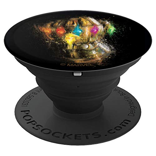Marvel Avengers: Endgame Thanos Six Stone Infinity Gauntlet - PopSockets Grip and Stand for Phones and Tablets