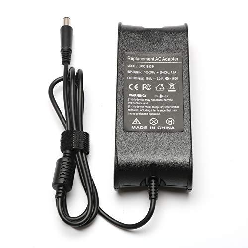 65W AC Adapter for Dell Laptops Inspiron N7010 N3010 1545 N5110 1525 5537 N4110 6400 N5050 3421 N4050 5423 5535 3521 N4010 3520 3542 m731R 5521 1564 Studio 1440 1555 1647 Supplied with Cord