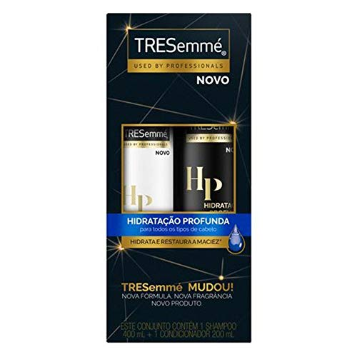 Kit Shampoo 400ml + Condicionador 200ml TRESemmé Hidratação Profunda