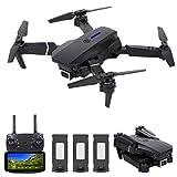 Leeofty Mini Drone para NiñOs, Un Dron con CáMara 4k con Fotos De Gestos, Flip 3D, Modo Sin Cabeza Y Funciones De Seguimiento De Vuelo