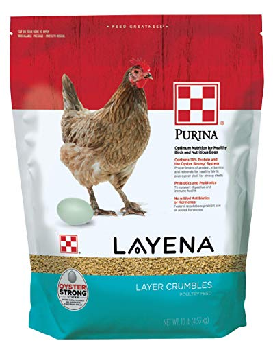 Purina Layena   Nutritionally Complete Layer Hen Feed Crumbles   10 Pound (10 lb) Bag