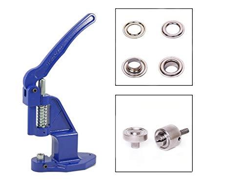 Cortinas GETMORE Parts autocortados para Textil Lonas Tela Cuero Tiendas de campa/ña Ojales seg/ún DIN 7332 50 Unidades