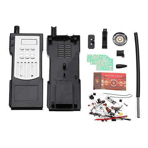 ILS – Kit de iniciación electrónica Walkie-talkie de producción DIY Kit de soldadura Kit de experiencia de formación