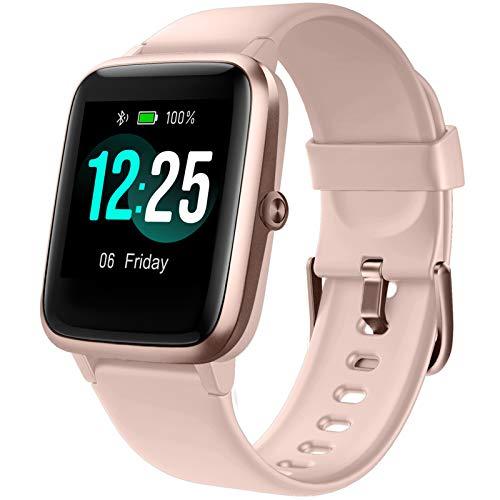 """PUTARE Smartwatch, Relojes Inteligentes Impermeable IP68 para Mujer Hombre niños, Reloj de Fitness con Monitor de Frecuencia Cardíaca/Sueño/Calorías/Pasos, Pantalla Inteligente de 1.3\""""para iOS Android"""