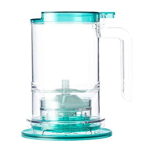 T2 Tea - Teamaker with Tea Infuser and BPA-free Plastic, Loose Leaf Tea Maker Aqua (500ml/16.9 floz)