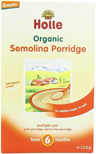 (3 PACK) - Holle - Dem Cereal Semolina Porridge | 250g | 3 PACK BUNDLE by HOLLE