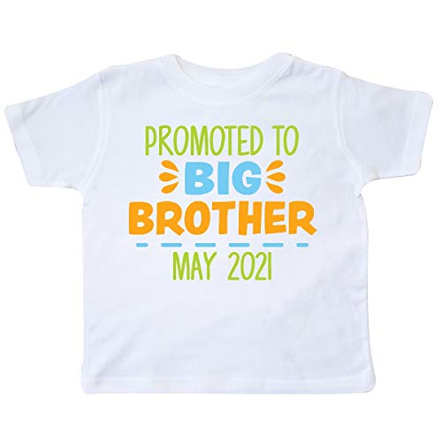 inktastic Promoted to Big Brother May 2021 Toddler T-Shirt 3T White 3b7f3